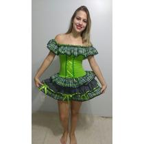 Vestidos De Caipira Festa Junina Diversos Modelos Adultos