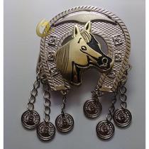 Fivela Country Feminino Cowgirl Cavalo Para Cinto