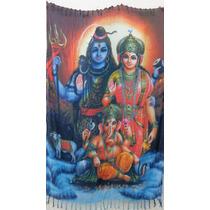 Canga Indiana - Deuses Hindus - Parvati ,shiva E Ganesha