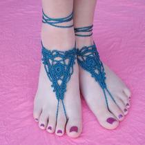 Barefoot Sandals, Sandálias Descalça, Acessório Pés Praia