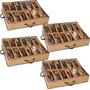 Ordene Sapateira 12 Pares Tênis Organizador Closet Sapatos