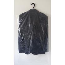 Capa Plástica Para Terno E Camisa Transparente - 100 Peças