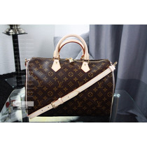 Bolsa Louis Vuitton Speedy Bandoulière 35 - Original!