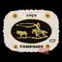 Fivela Laço Comprido Com Detalhes Em Strass - Cowboy Brand