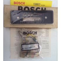 Moldura De Rádio Original Bosch Do Chevette!kit Fixação!