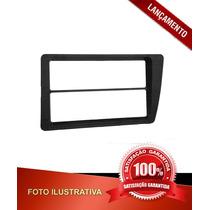 Moldura Civic 2001/2006 P/aparelho De Som/dvd 2 Din - Preto