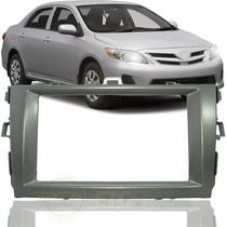 Moldura Dvd Painel 2 Din P/ New Toyota Corolla 09-13