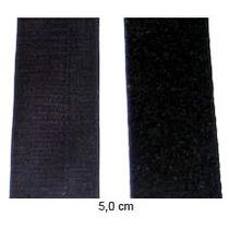 Fita Adesiva Velcro Macho E Femea 5cm X 1 Mts