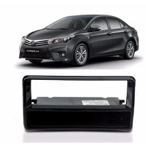 Moldura Painel Toyota Corolla Gli Dvd 1 Din Black Piano Cd