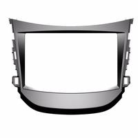 Moldura Painel Hyundai Hb20 Dvd 2 Din Com Audio Pioneer Sony