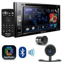 Dvd Player Pioneer Avh-x2780bt + Camera De Re + Interface