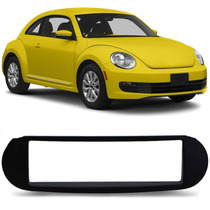 Moldura Painel Radio Dvd Retratil 1 Din Para New Beetle