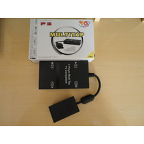 Multiplayer Multitap Ps2 Slim E Fat Playstation 2 Na Caixa