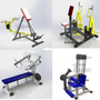 Aparelhos De Academia / Musculação (projetos Para Fabricar)