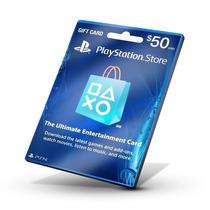 Playstation Network Card Cartão Psn $50 - Preço Especial