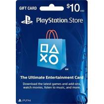 Cartão Psn Americana $10 Dolares - Psn Card - Envio Imediato