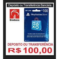 Psn Card 100 Br