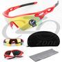 Óculos De Sol Esportivo Bike Ciclismo Oulaiou Proteção Uv400