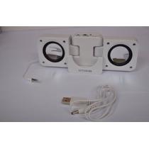 Mini Caixa De Som Amplificada P/celular,tablet,mp3 Ótimo