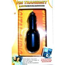 Transmissor Fm S/fio Para Ouvir Som De Mp3 Ipod Smartphones