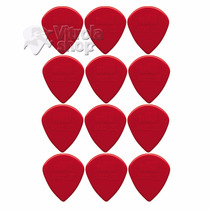 Kit12 Palhetas Dunlop Jazz Iii 3 Vermelha Jim Dunlop Loja