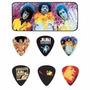 Kit 12 Palhetas Dunlop Jimi Hendrix Experience C/ Lata