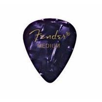 10 Palhetas Paletas Fender Guitarra 0,46mm