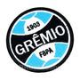 Trs009 Grêmio Escudo Símbolo Futebol Tag Patch Bordado 8,5cm