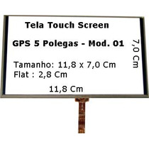 Tela Touch Screen , Gps Foston Fs-583dcv 5 Polegadas