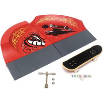 Miniatura Rampa (pista) E Skate De Dedo - Fingerboard