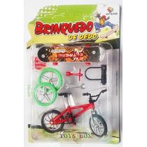 Miniatura Bicicleta (bike) De Dedo - Bicicleta E Skate