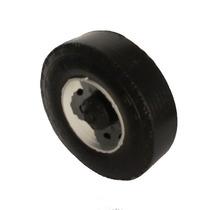 Kit 60 Rodas Plásticas 8cm Para Brinquedo Caminhão Miniatura