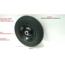 Roda 350x8 Carrinho Plataforma Carga Armazem