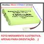 Bateria P/ Carrinhos 9.6v 1300mah. Plug Tamya