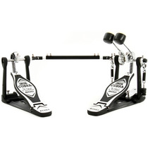Pedal Duplo De Bumbo Tama Iron Cobra C/ Case Hp600 Dtwb