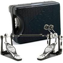 Pedal Duplo De Bumbo Tama Hp 600 Dtwb Iron Cobra C/ Case