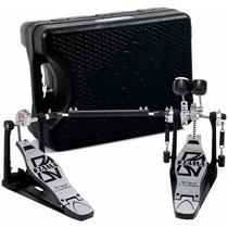 Pedal Duplo Hp 300twb Tama Iron Cobra Jr. + Case