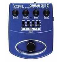 Pedal Para Guitarra Behringer V-tone Guitar Driver Gdi-21