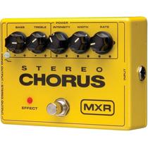 Promoção! Dunlop M134 Pedal Mxr Stereo Chorus Para Guitarra