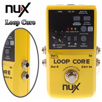 Pedal Loop Core Nux Novo! Distor Over Dela Rc Frete Grátis!