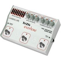 Pedal Guitarra Triefx 3 Em 1 Overdrive Distorção Equalizer