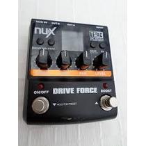 Pedal Nux Drive Force Distorção Na Caixa Aceito Troca