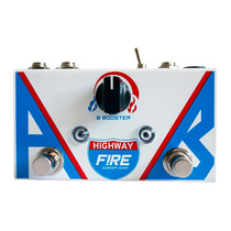 Pedal Fire Guitarra Ab Box Seletor Canal Highway Booster