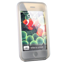 Ipod Touch E Iphone 3g E 3gs - Capa De Silicone - Fumê
