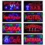 Placa De Led P/ Sinalização Painel Comercial Vários Modelos