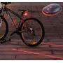 Sinalizador Ciclovia Laser Led Bicicleta Bike Acessório Luz
