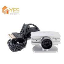 Eye Toy - Camera De Movimento Para Ps2 + Patch Com 3 Jogos