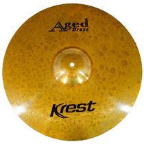 Prato De Condução Krest Serie Aged Brass Ride 20 Ab20ri