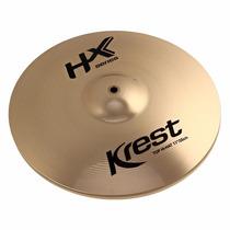 Prato Hi Hat 13 Polegadas Chimbal Hx Series - Krest Hx13hh