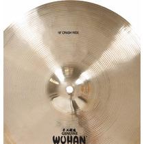 Prato De Ataque 18 Crash / Ride Wuhan Cymbals Liga B20